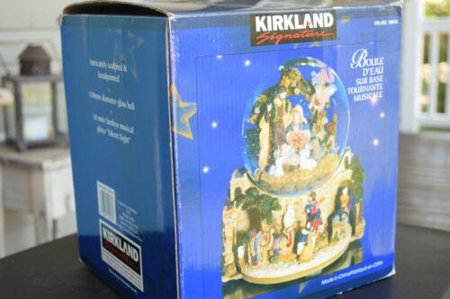 Kirkland Signature Musical Water globe With Revolving Base Nativity Item #109619