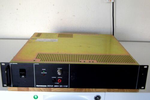 Sorensen DCS50-40M16 DC Power Supply, 30 day warranty