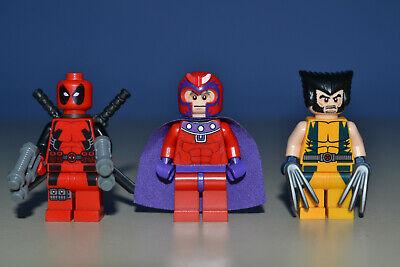 LEGO Super Heros Minifigure Deadpool X-Men & Mageneto  Minifigures 6866