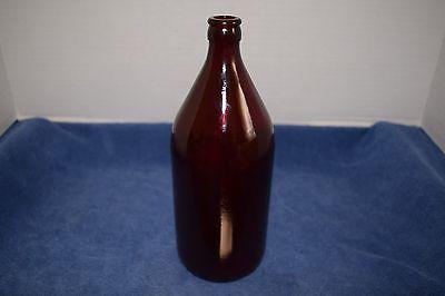 Vintage 1949 Schlitz Royal Ruby Anchorglass  32 Ounce Bottle