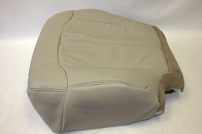 "Chevy Tahoe Suburban Driver Bottom Seat Cover ""Light"" Tan522 1999 2000 2001 2002"