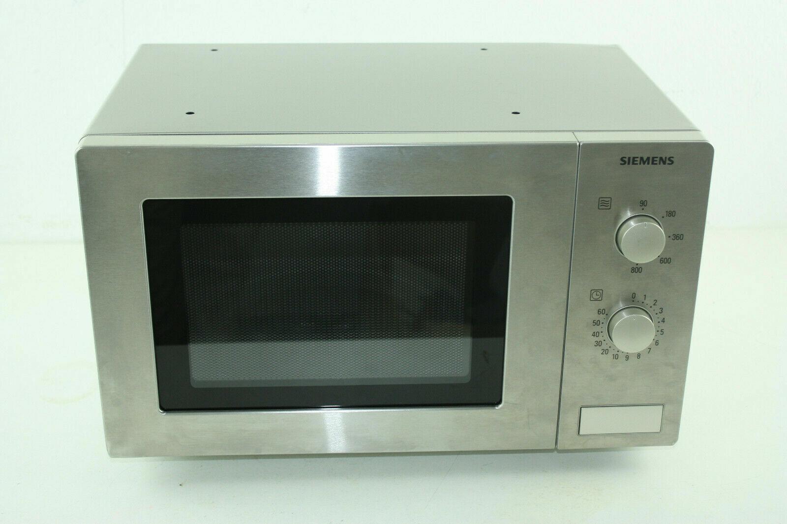 Siemens HF12M540 iQ300 Mikrowelle / 17 L / 800 W / Edelstahl