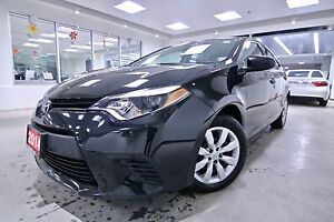 2014 Toyota Corolla LE ORIGINAL RHT VEHICLE, ONE OWNER,CLEAN CAR