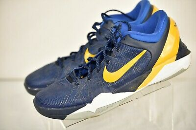 newest 198b7 f88d4 Nike Zoom Kobe VII System 7 Entourage Blue 488371 404 Size 14 RARE!