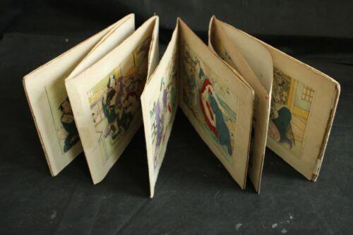 JAPANESE WOODBLOCK  EROTIC SHUNGA  PRINT BOOK