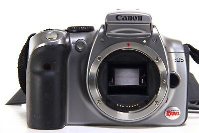 Canon EOS Digital Rebel DS6041 6.3MP SLR Camera - Silver ONLY BODY for sale  Bellwood