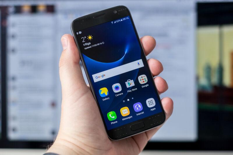 Im Smartphone-Himmel dank Samsungs Galaxy S7. (Kārlis Dambrāns (CC BY 2.0))