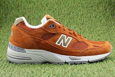New Balance Sneaker Schuhe Herrenschuhe M991SE ABZORB Made in UK England Orange Orange Sneaker Schuhe