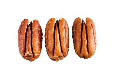 Natural Nut (Raw Shelled Natural Pecan Nut Halves in Bulk and Vacuum sealed bag 5 lbs )