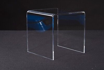Clear Acrylic Riser 4x4x4 Stand Display By Uline