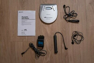 Sony CD Walkman D-EJ725 Discman high end + LCD Remote RM-CD15L G-PROTECTION E777 online kaufen