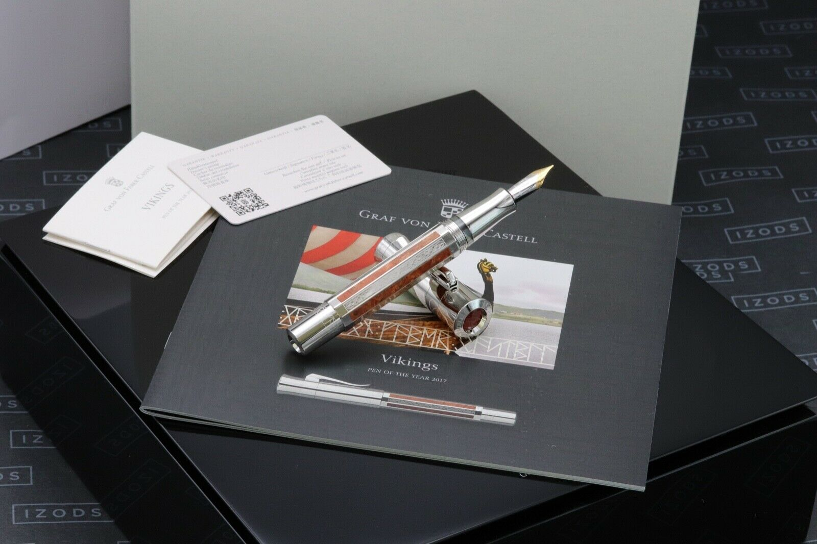 Graf von Faber Castell Pen of the Year 2017 Vikings LE Fountain Pen - UNUSED