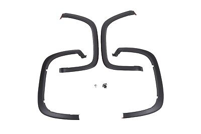 2015-2018 Chevrolet Colorado GM Front and Rear Black Fender Flare Kit 84059964