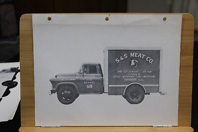 Sales Picture Page Dealer Truck S & S Meat Company Kansas City Missouri MO Orig. - Party City Sale