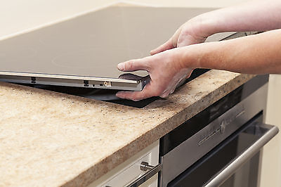 Dank genormter Maße lassen sich Einbauherde problemlos in die Küchenzeile integrieren. (Foto: Thinkstock)