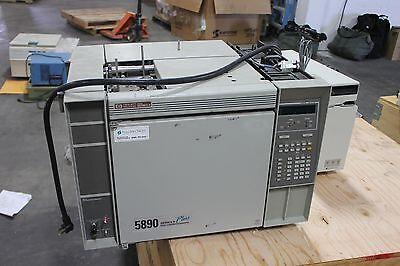 Agilent Hp 5890 Series Ii Plus Gas Chromatograph Gc