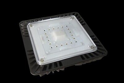 """4500 Lumens 9.5/"""" x 9.5/"""" 175-200W HPS//HID Replace 4Pack 45W LED Canopy Light,"""