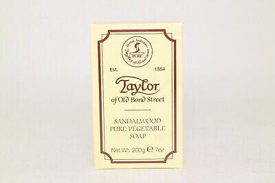Taylor of old Bond Street Sandalwood Pure vegetable Bath  soap