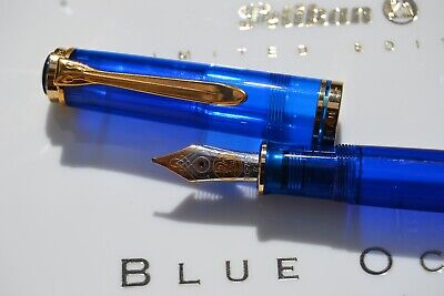 Pelican Pen (Pelican Limited Edition Blue Ocean Fountain Pen )