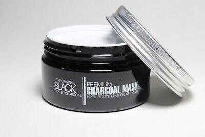 Detoxifying Charcoal Peel Off Mask  Blackhead Removing Mask  Purifying Face Mask