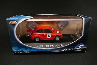 Solido 4590 Fiat 600 Abarth Die cast metal car Solido 1:43