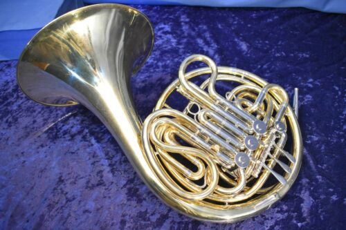 1965 Reynolds Contempora Model FE-03 Double French horn with Case and Mouthpiece