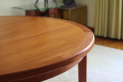 Gorgeous Mid Century Danish Modern Teak Dining Table