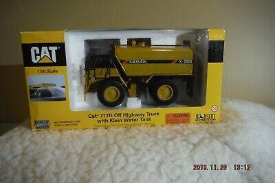 Norscot 55142 Cat 777D Off Highway Truck W/ Kle1n Water Tank BRAND