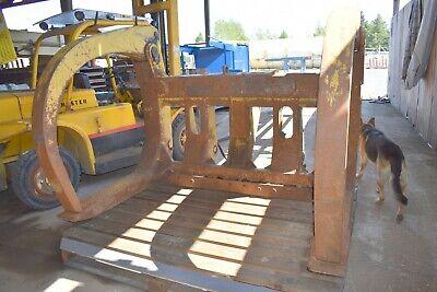 Medford Log Forks Caterpillar 966 Wheel Loader Log Clamp