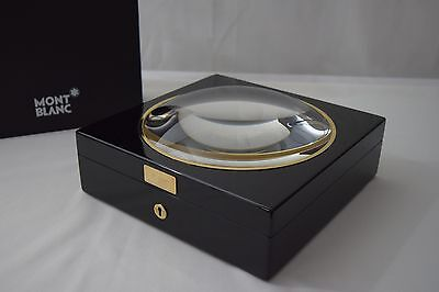 MONTBLANC 75th Anniversary Meisterstuck MAGNIFYING GLASS DOME Case for PEN WATCH