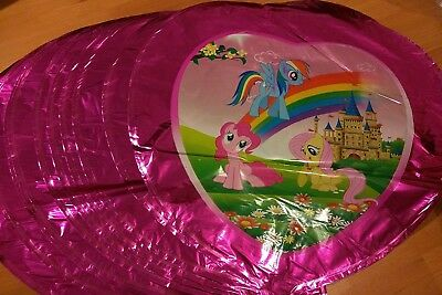 3 PCs My Little Pony Balloon Balloons Rainbow Dash Twilight Sparkle - My Little Pony Balloons