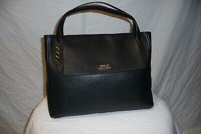 Ladies VERSACE COLLECTION Black Leather Handbag (no shoulder strap)