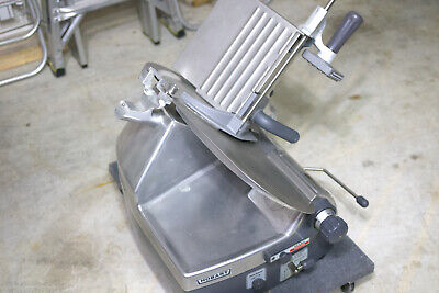 Hobart 2712 Automatic 2-speed 12 Meat Cheese Deli Sub Slicer No Sharpener.