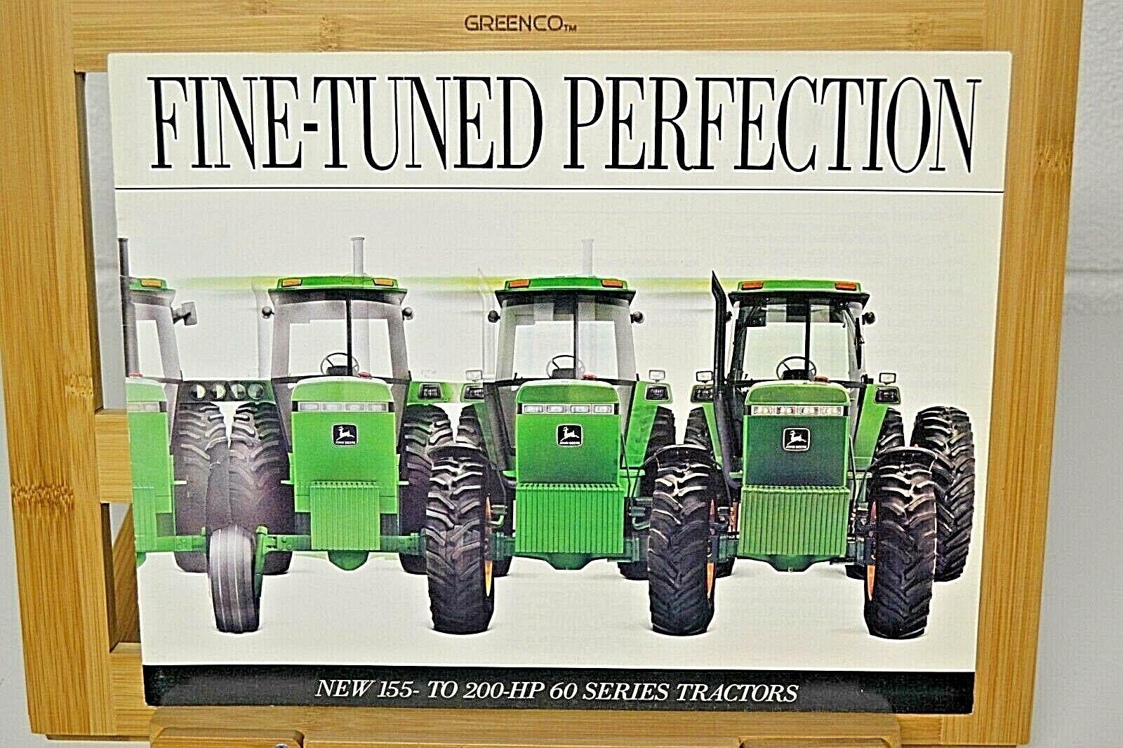 1991 John Deere 4560 4760 4960 Tractor Brochure 155 To 200 HP nos
