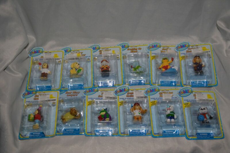 12 SEALED Webkinz Plastic Animal Figurines w/ Codes Magical Forest
