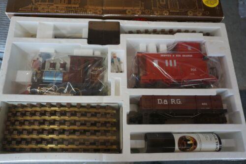 Lionel Gold Rush Special Denver & Rio Grande Set New 8-81000 G Scale