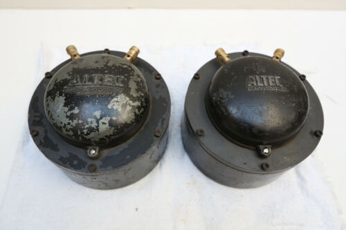 Vintage Altec Lansing 288C 288D or 291-16A? Horn Drivers (Pair)