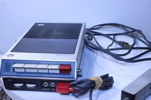 Sony Vintage Taperecorder TC-110 Working Unit with Microphone