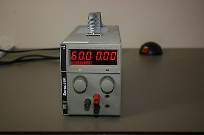 Sorensen Sts60-1 Dc Power Supply 0-60v 0-1amp Calibrated With Warranty
