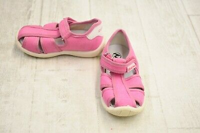 **Naturino 7785 Canvas Fisherman Sandals- Toddler Girl's Size US:8.5/EU:24, Pink Naturino Pink Sandals
