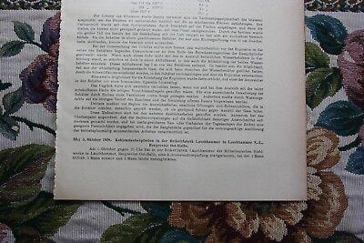 1929 Fragment Zeitschrift Bergbau / Brikettfabrik Lauchhammer Unfall