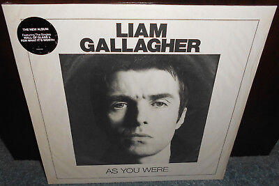 LIMITED WHITE VINYL Liam Gallagher As You Were LP New Sealed Oasis Noel Rare