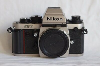 [UNUSED] - Nikon F3T Champagne 35mm SLR Film Camera Body Only
