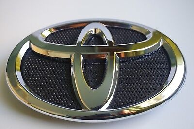 Toyota Chrome Grill - 2007 2008 2009 TOYOTA CAMRY 75311-06060 GRILLE EMBLEM  HOOD GRILL BLACK CHROME