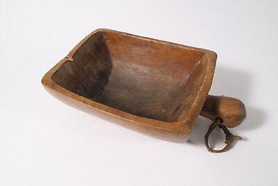 Alte Holzschale Schale Gurage Old used wooden bowl Äthiopien Ethiopia Afrozip