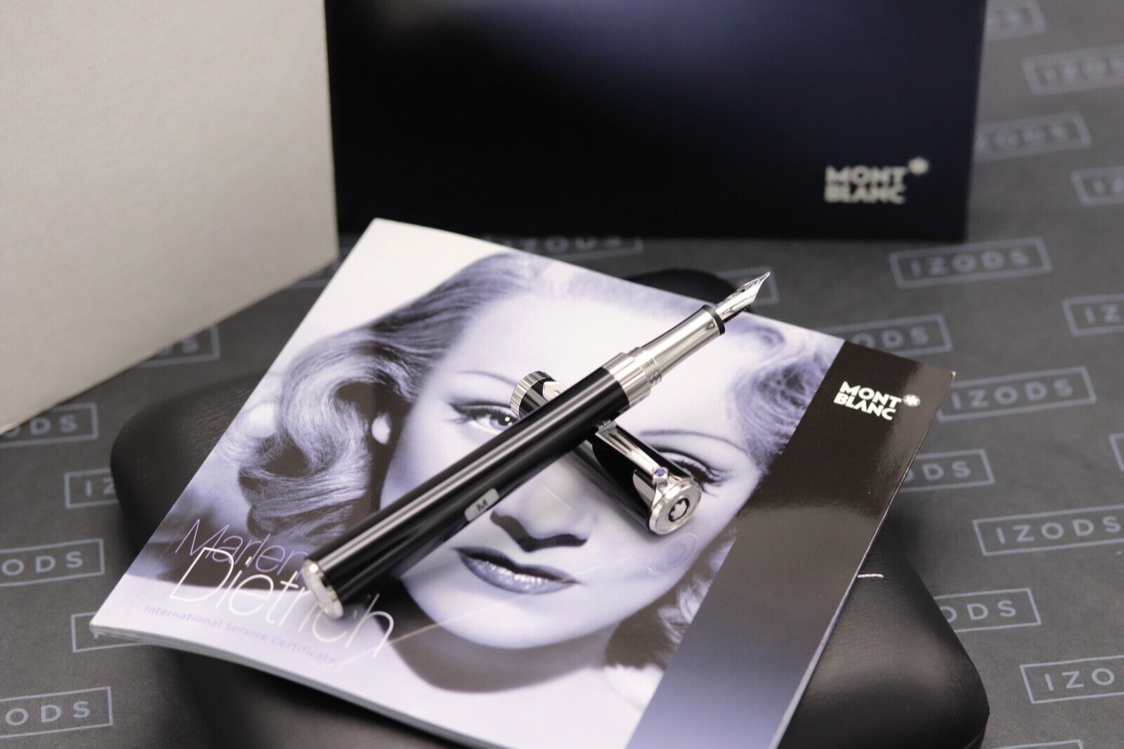 Montblanc Diva Line Marlene Dietrich Special Edition Fountain Pen - NEW MARCH 21