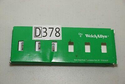 04700-u6 04700-u Welch Allyn 2.5v Vacuum Lamp Bulb Pack Of 3 Bulbs