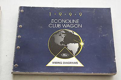 1999 Ford Service Wiring Vacuum Manual Econoline Club Wagon