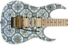 Guitar European Budapest Turkey Patter Tile Retro 70 S
