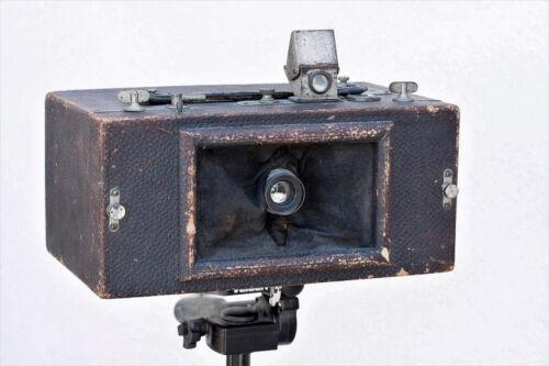 Antique Al Vista Panoramic Roll Film Camera, Multiscope & Film Co. U.S.A. RARE